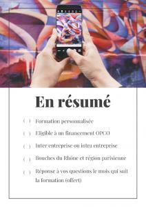 Résumé formation Facebook Marseille